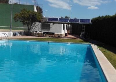Autoconsumo depuradora piscina