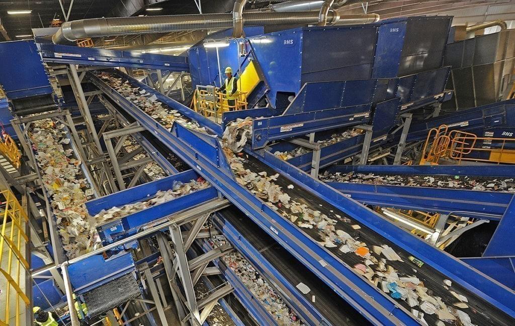 Planta de triaje de residuo sólido urbano (RSU)